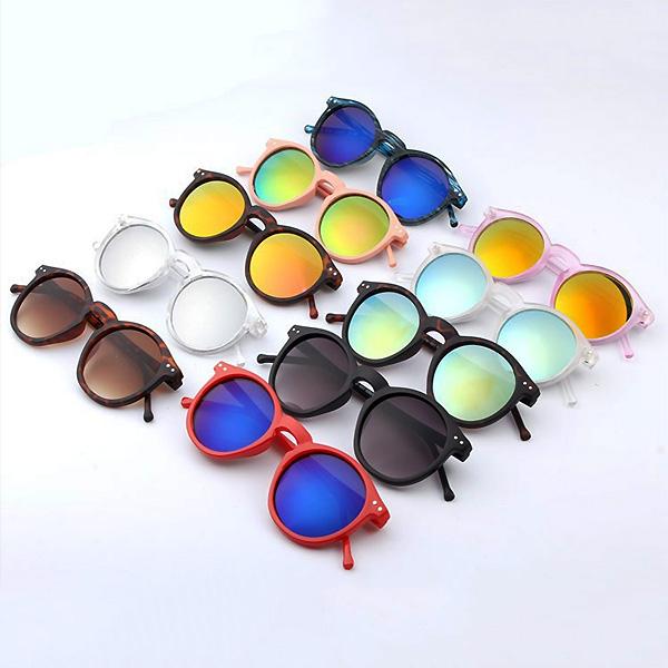 122eb507c08c Details about New Women Men Vintage Clubmaster Designer Shades Retro Round  Cat Eye Sunglasses