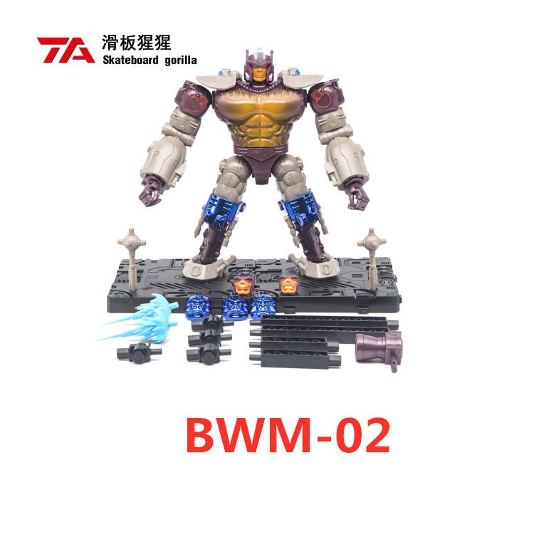 IN STOCK TransArt TA Best Wars BM W-02 Skateboard Gorilla Action Figure