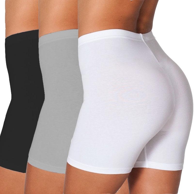 New Women Soft Workout Yoga Stretch Leggings Cotton Spandex Fitness Bike Short