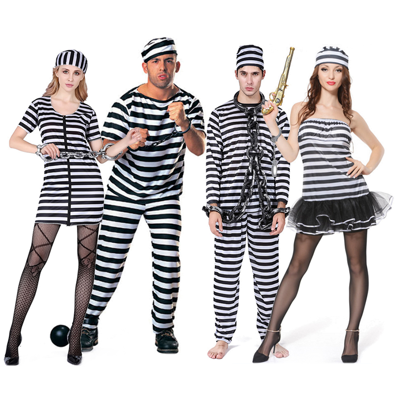 Prison convict uniform costume menwomen party fancy dress overall uk prison convict uniform costume menwomen fancy dress overall jumpsuit jail solutioingenieria Image collections