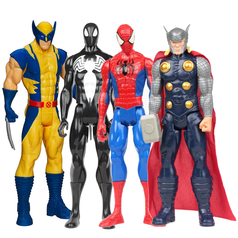 Best Super Hero Toys And Action Figures : Superhero action figures xmen wolverine thor avengers