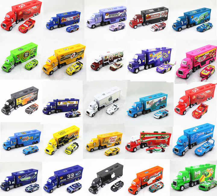 Cars 1 And 2 Toys : New disney pixar hauler mack truck cars metal