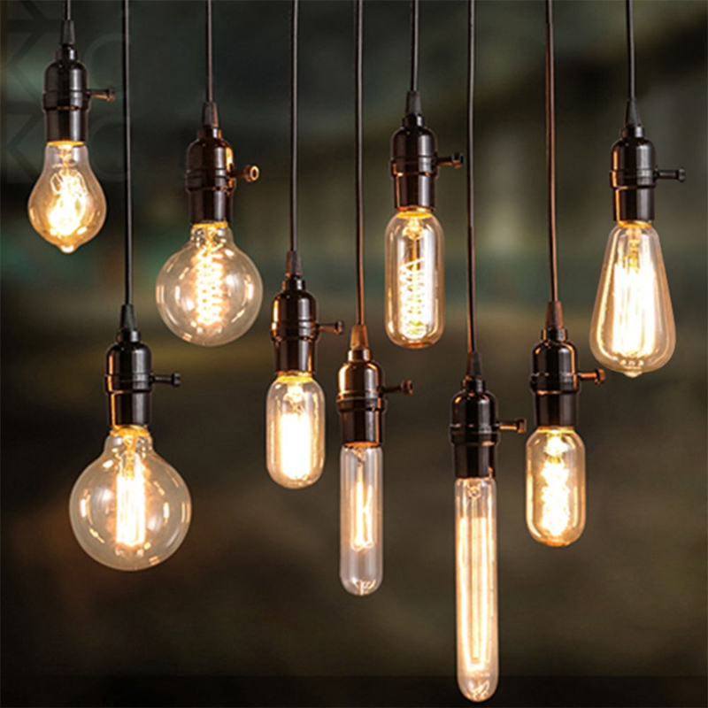 Details About E27 40w Vintage Antique Retro Style Light Filament Edison Lamp Bulb New