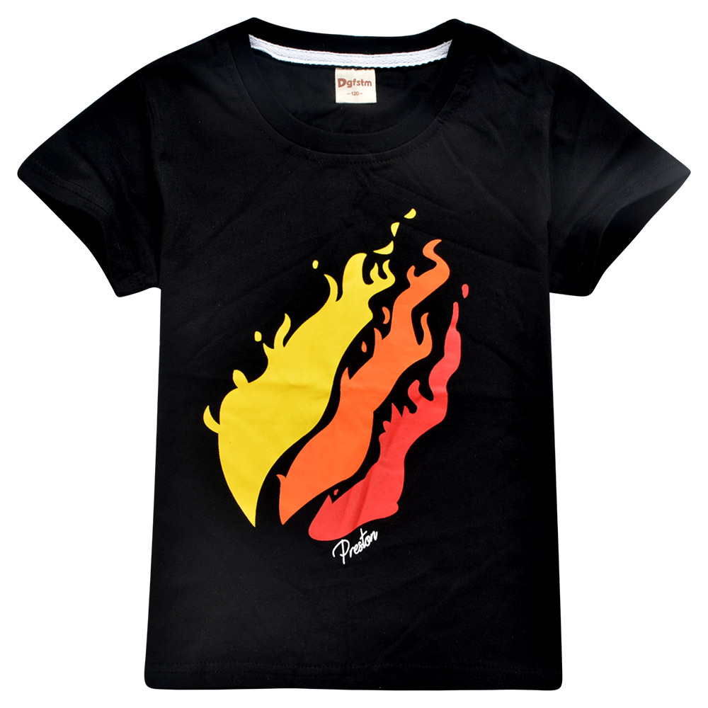 2019 New Prestonplayz Kids Hoodie Sweatshirt T-shirts Top