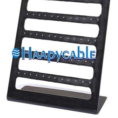 New Plastic 72 Holes Jewelry Earrings Display Rack Stand Organizer Show Holder 208