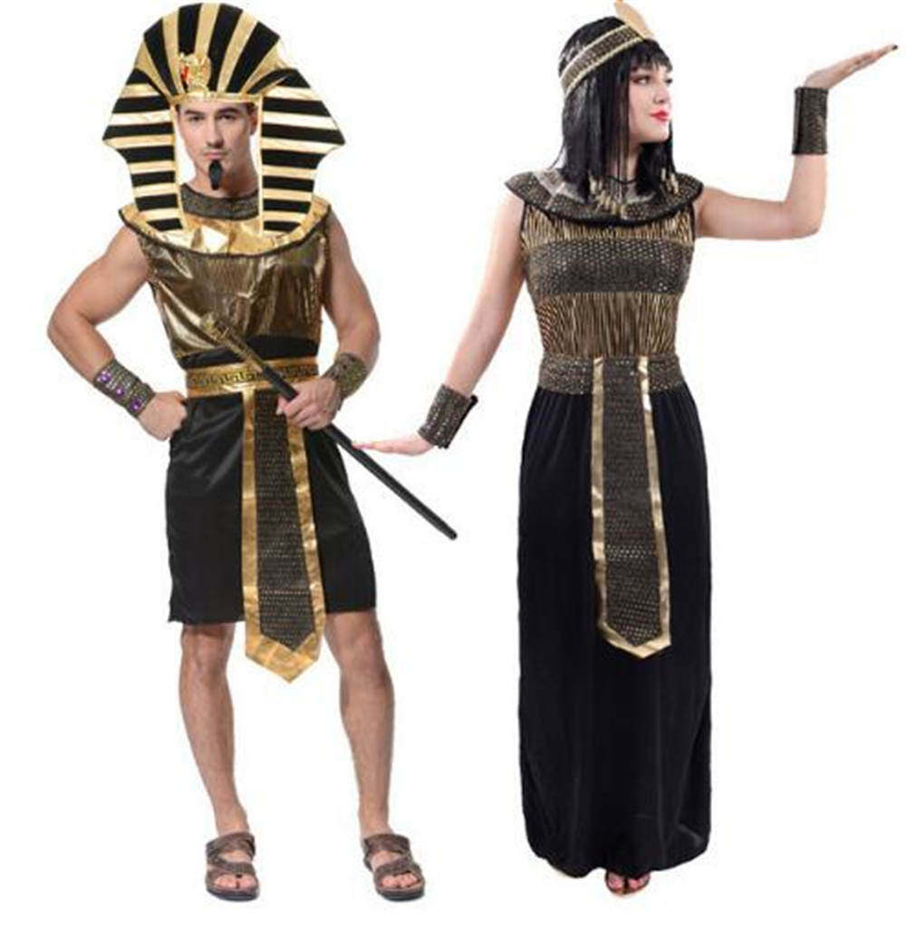 Christmas Cosplay Costume Ancient Egypt Pharaoh Cleopatra Party