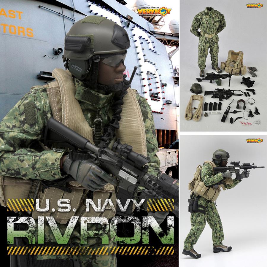 VERY HOT US Navy RIVRON Set 1//6