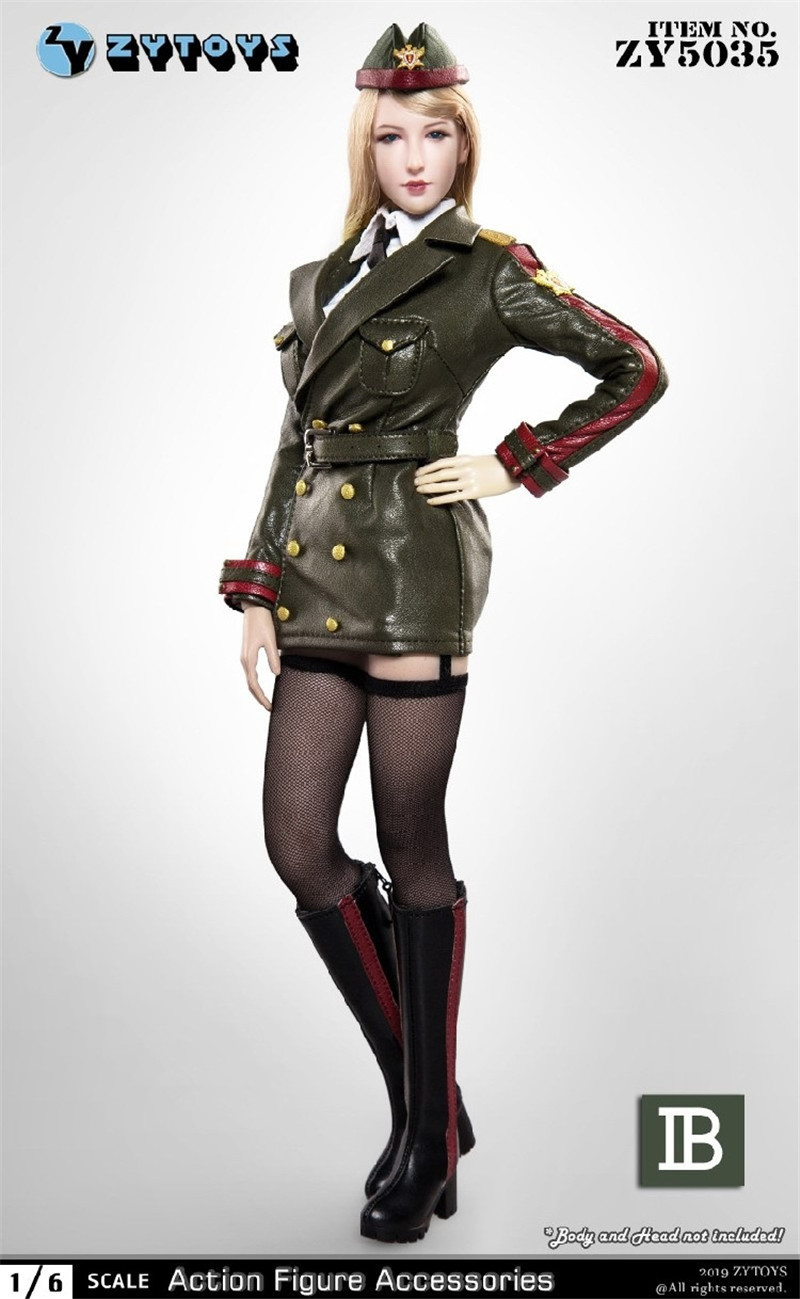 "ZYTOYS 1//6 Girl Student Suits Set Uniform Clothes F 12/"" Figure Model ZY15-30"