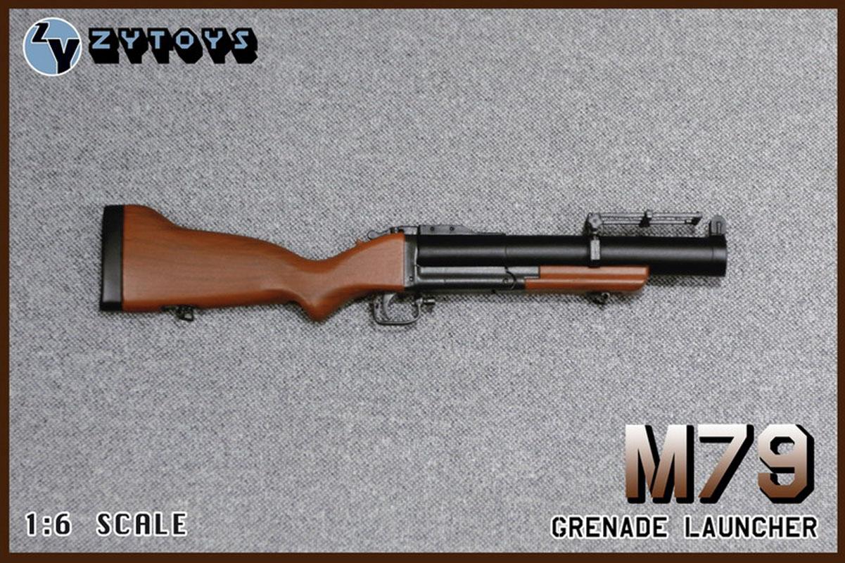 "ZYTOYS 1:6 Scale Weapon Gun Model M79 Grenade Launcher Model F12/"" Figure Doll"