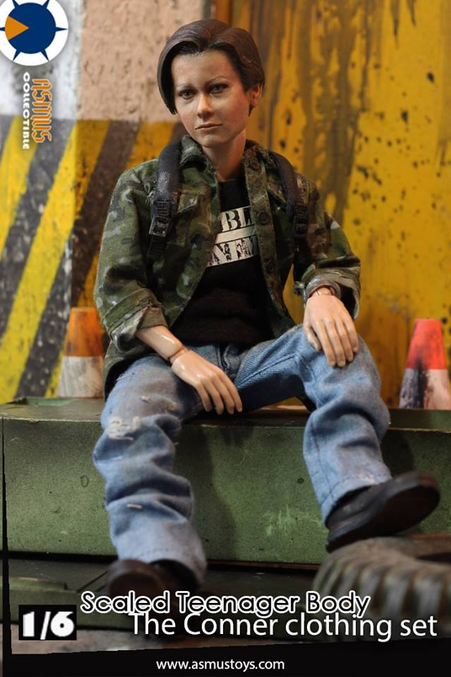 Asmus Toys ASCNR  1/6 action figure toys connor  accessories contains 21cm body