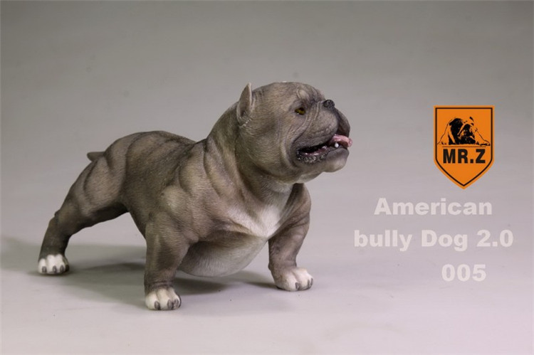 Details about Mr Z 1:6 Animal Simulation Pitbull For 12
