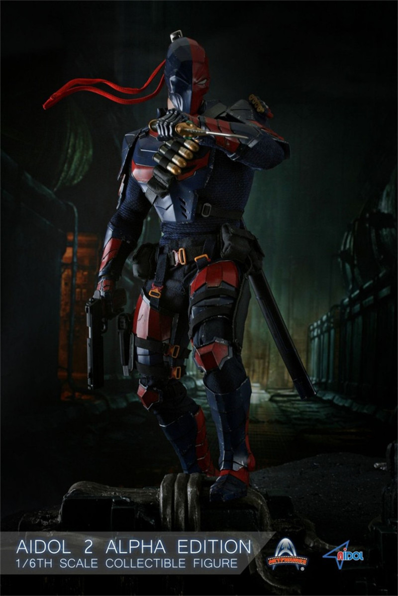 Art Figures AIDOL 2 Beta Ver Deathstroke Body Armor loose 1//6th scale