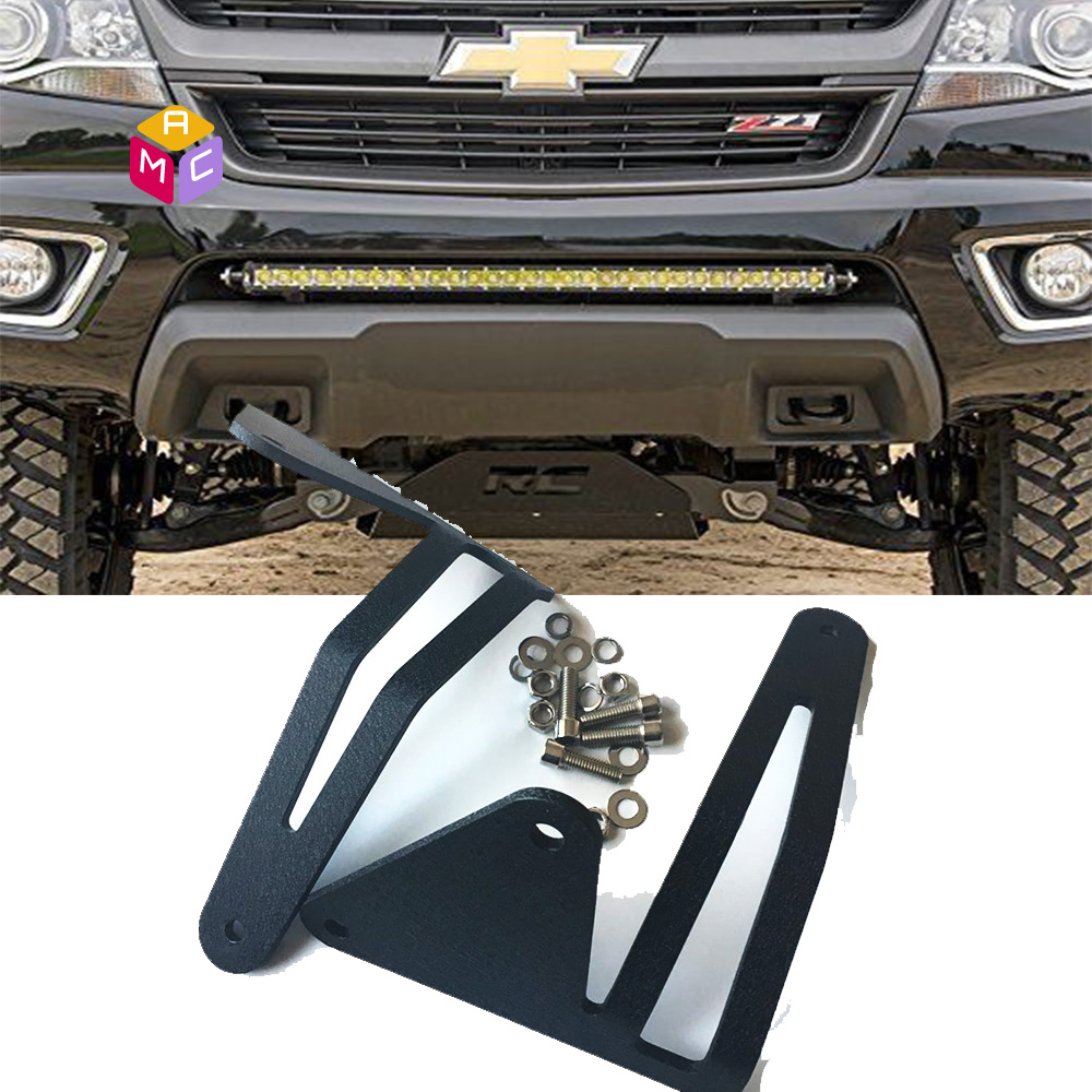 Hidden bumper mount bracket 30inch led light bar 15 16 chevy hidden bumper mount bracket 30inch led light bar 15 16 chevy colorado gmc canyon mozeypictures Image collections