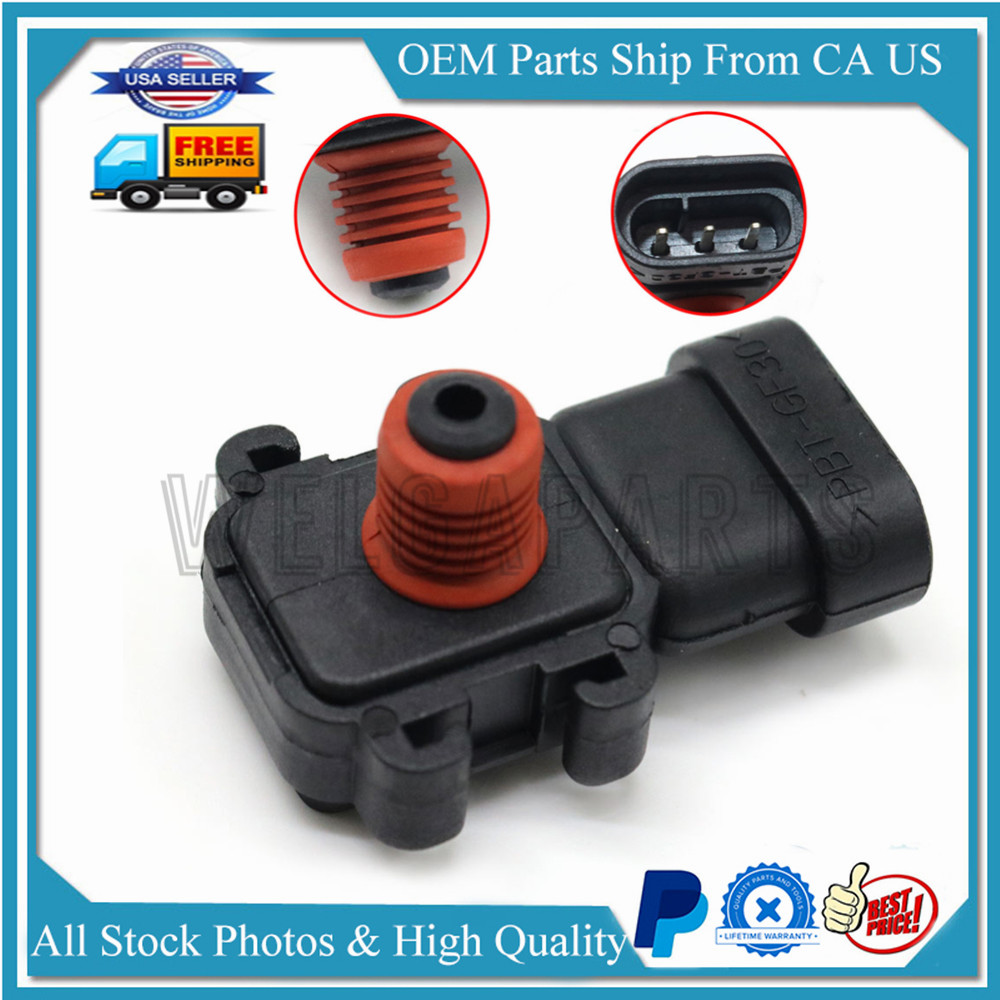16187556 Manifold Absolute Pressure MAP Sensor For GMC Buick New 16249939