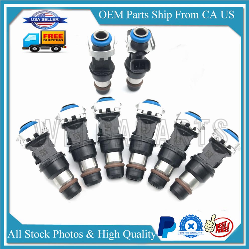 8X Fuel Injectors Nozzle For 99-07 Chevy Silverado GMC Cadillac 4.8L 5.3L 6.0L