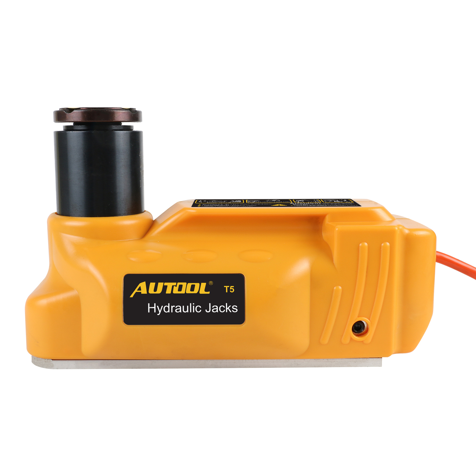 AUTOOL 5T Portable Hydraulic Electric Floor Jacks 12V Car ...