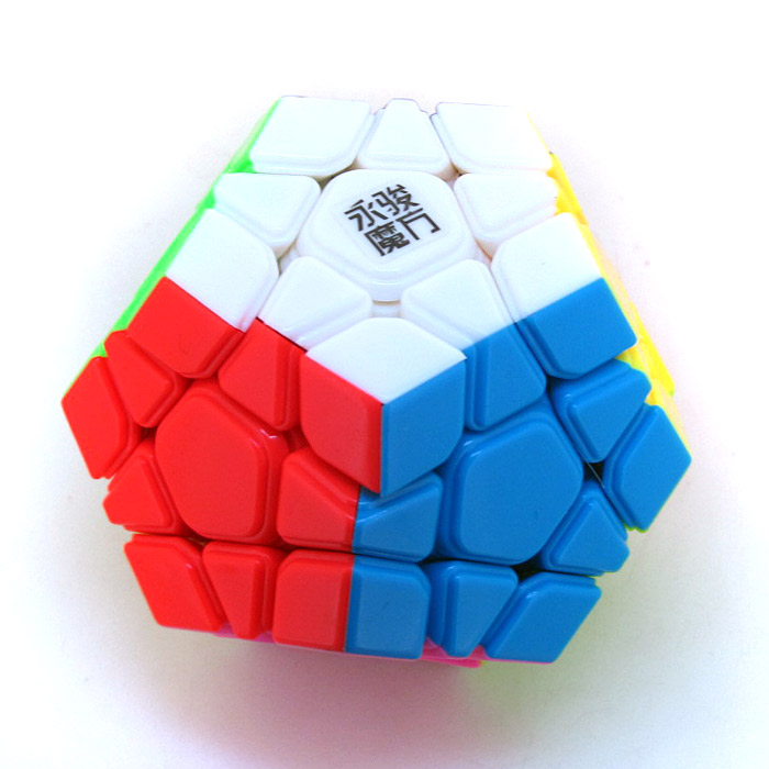 Moyu YUHU Royal Tiger 12 Sided Megaminx Speed Magic Cube Twist Puzzle White