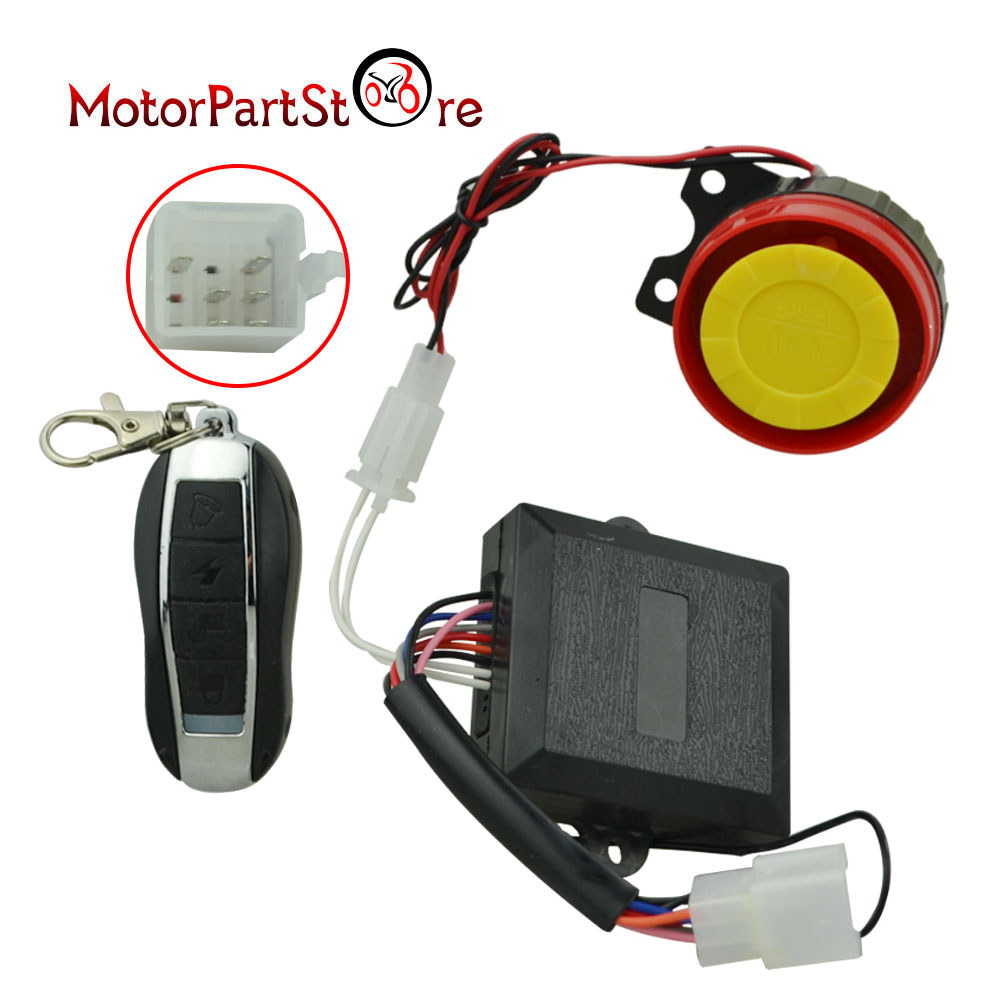 details about remote control kill start switch siren alarm for 50cc 250cc taotao chinese atv taotao chinese 110cc atv wiring diagram 152fmh atv 110 wiring harness wiring