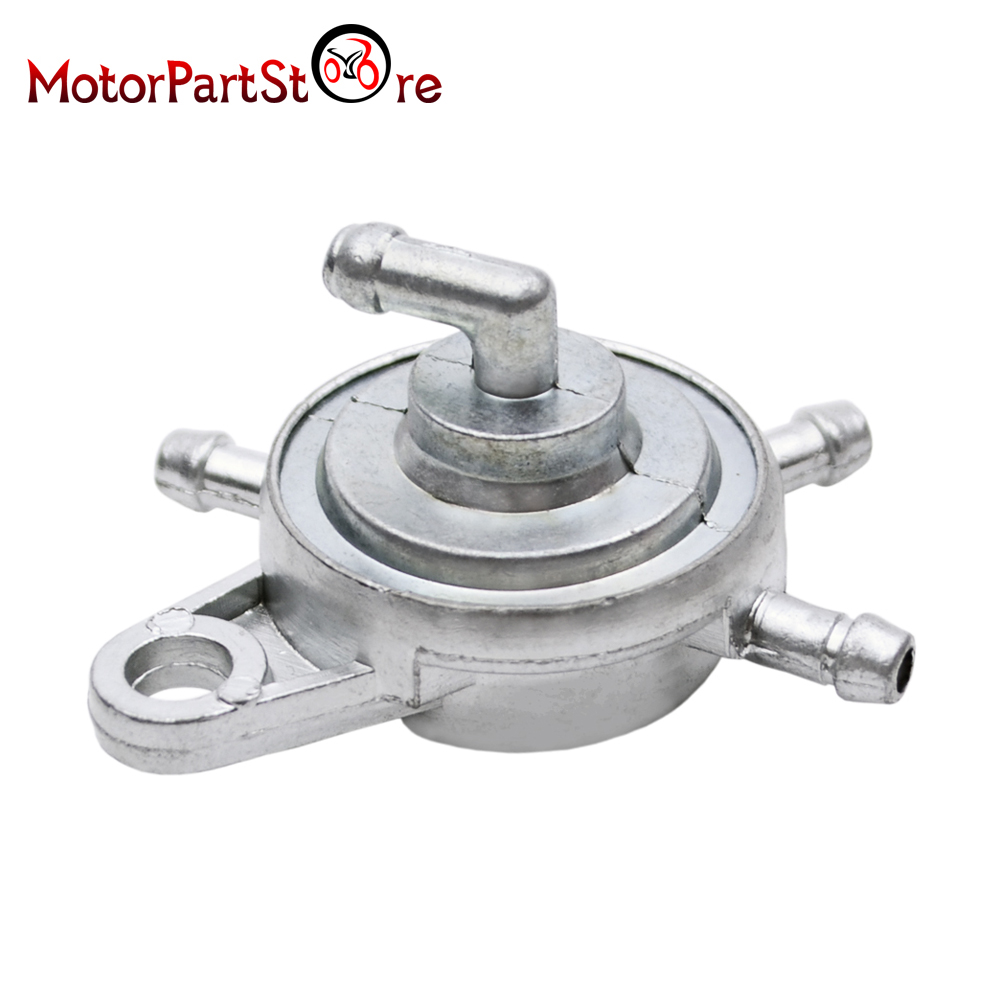 SHUT OFF SWITCH FUEL PUMP GY6 CARBURETOR SCOOTER GOKART PETCOCK CARB CHINESE 2 P