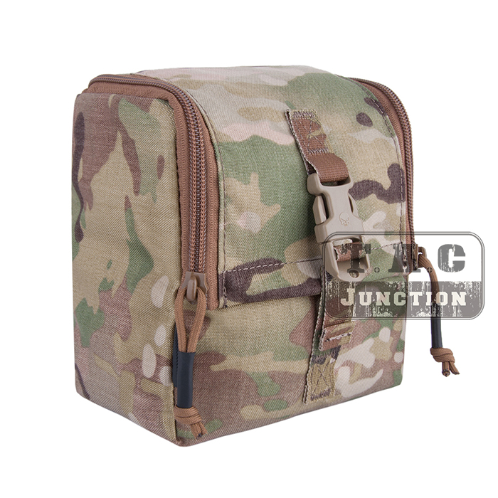TAN Tactical MOLLE G.P Pouch Carrying Case PALS Multi-Purpose Pouch