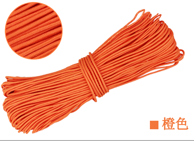 new 10//20//30//50//100meter Colored braided rope nylon rope  4//6//8//10mm 10 color