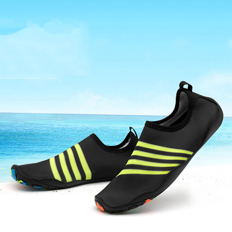 62fabda3c0bc9 Men Women Beach Skin Water Shoes Outdoor Aqua Wading Yoga Swimming ...