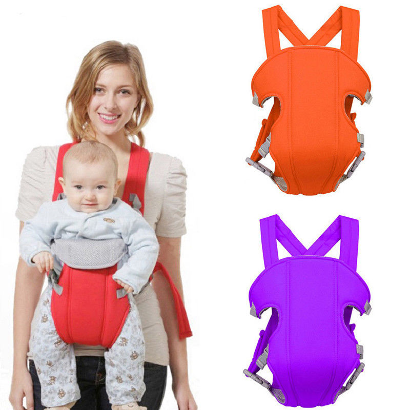 Details about Baby Carrier Multifunctional Front Facing Mesh Infant Comfortable Sling Backpack