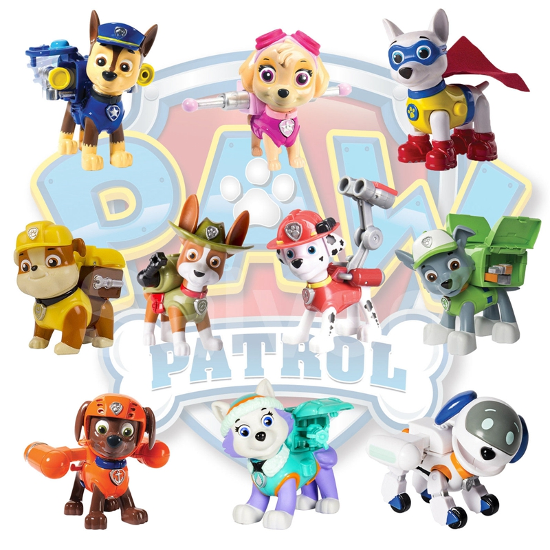Paw Patrol Toy For Everyone : Hot paw patrol action pack pup dog backpack projectile