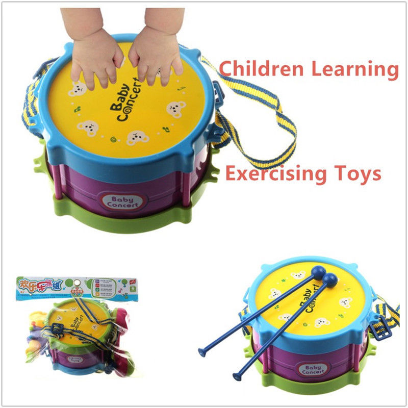 Drum Toy For 1 Year Olds : Pcs baby boy girl drum set musical instruments kids band