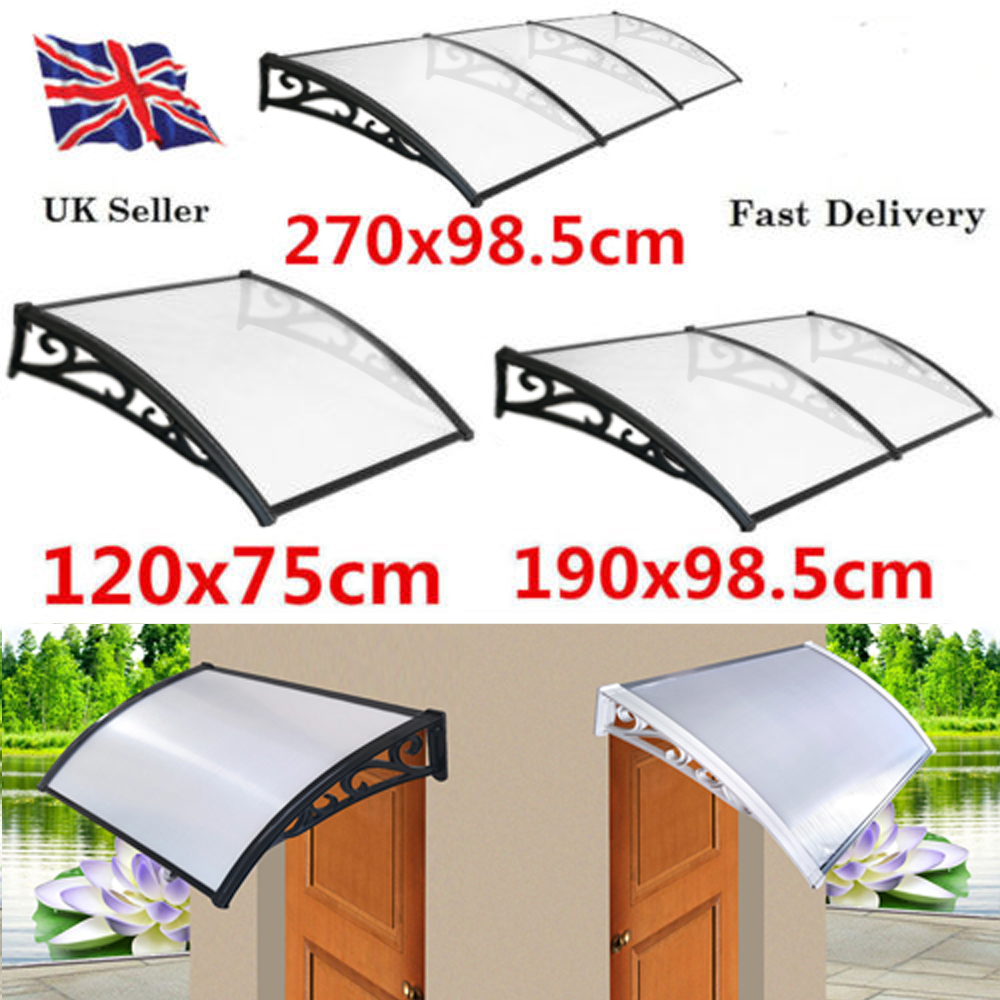 Pvc Over Door Canopy Porch Front Rain Cover Awning Shelter