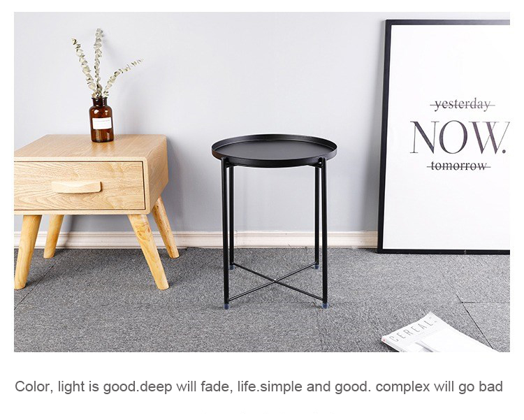 Prime Details About End Table Black Metal Small Round Side Chair Sofa Foldable Tv Snack Coffee Tray Inzonedesignstudio Interior Chair Design Inzonedesignstudiocom