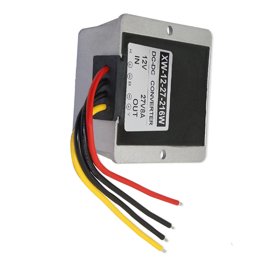 Details about Vehicle Power Converter 8A 516W 12V to 27V Variable Booster  DC Buck Converter