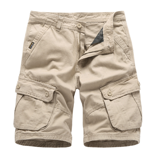 Mens Combat Shorts Summer Army Military Casual Work Cargo Pants Multi-pockets