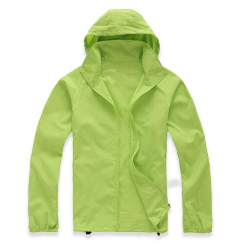 Travel Windproof Jacket Men Women Lightweight Outdoor Bicycle Sports Rain Coat