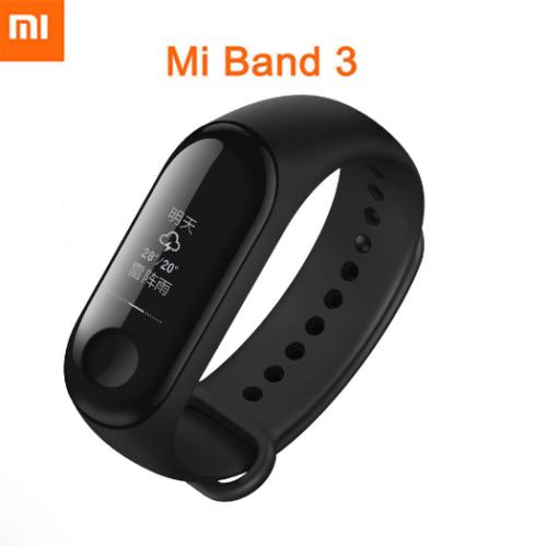 Xiaomi Mi Band 3 Smart Wristband Bracelet Watch OLED Touch Screen 50m waterproof