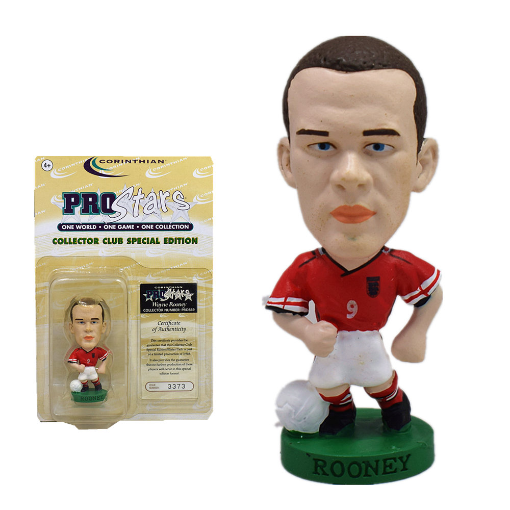 12 World Greats Edition - World Cup Soccer figure Lot Corinthian Prostars