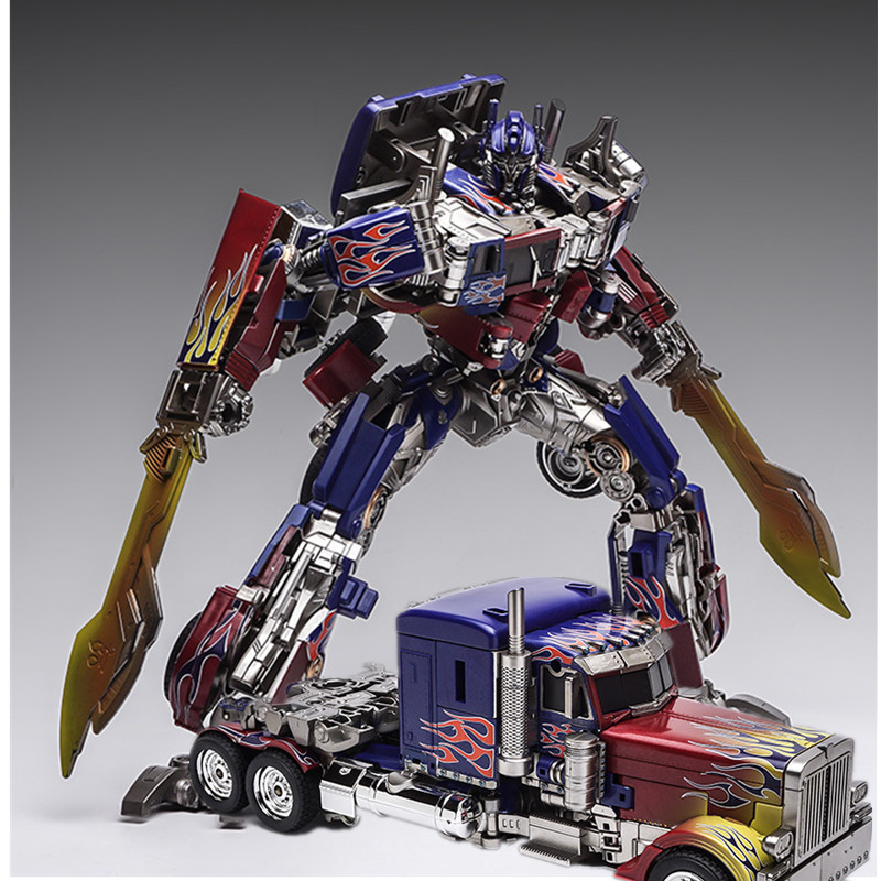 NEWM01 Transformers Oversize Movie Evasion Optimus Prime action figure kids toys