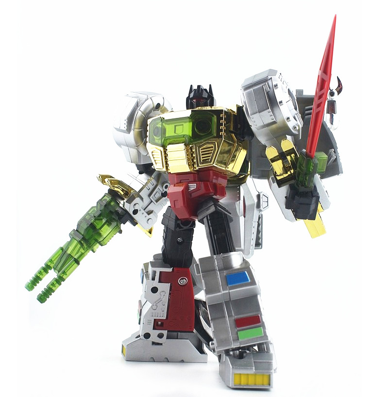 ZHANJIANG Transformers G1 Dinobot Grimlock Voyager D01 Action Figure In Box Toy