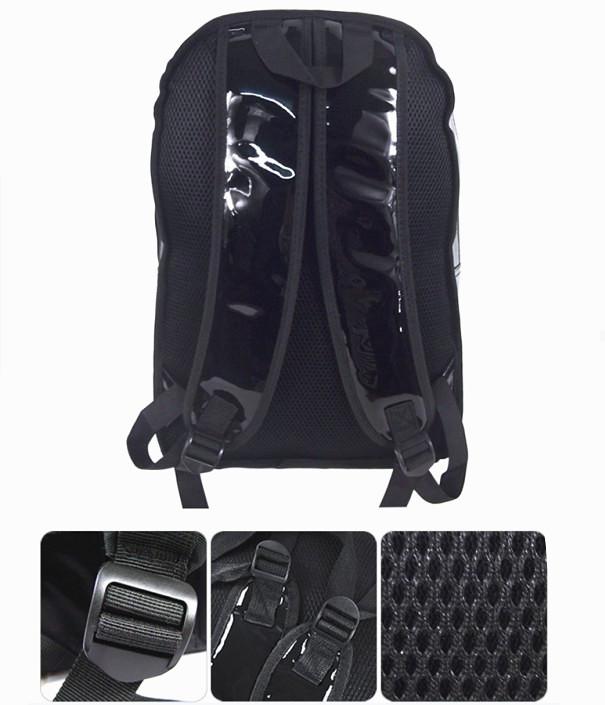 Anime Black Butler PU Leather Schoolbag Backpack Student Satchel Black