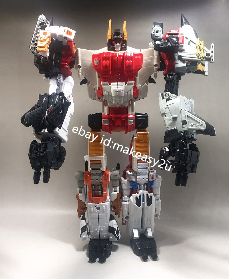 Transformers Superion IDW 6 In 1 Action Figure G1 KO New Kids Toys in Stock 12/""
