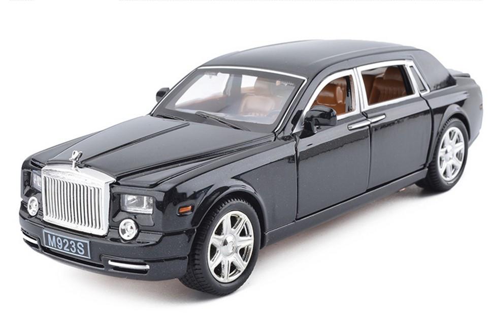 BNIB OO GAUGE OXFORD DIECAST 1:76 76RRP3001 ROLLS ROYCE PHANTOM III BLACK CAR