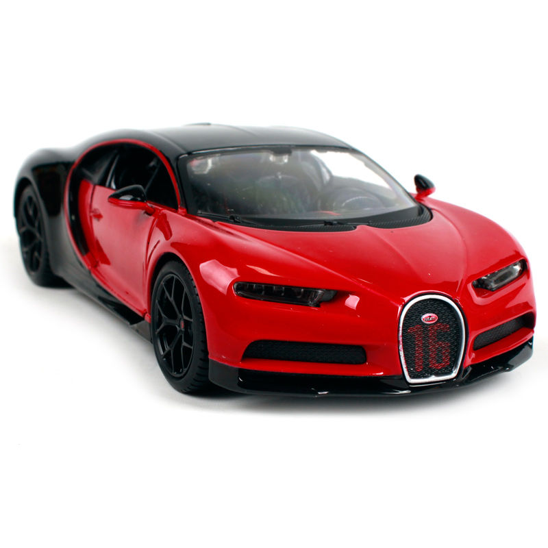 maisto 1:24 bugatti chiron sport diecast metal model roadster car