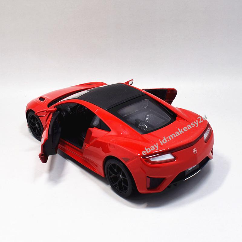 Maisto 1:24 2018 Acura NSX Diecast Metal Model Car Toy Red