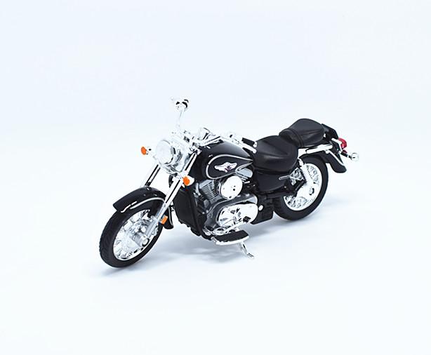 1:18 Welly 02 Kawasaki VULCAN 1500 CLIC Motorcycle Bike Model ...