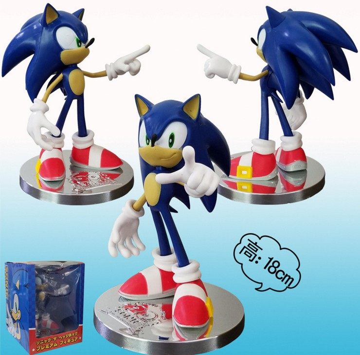 Games The HEDGEHOG Super Sonic Figure 7 Inches Toy New | eBay