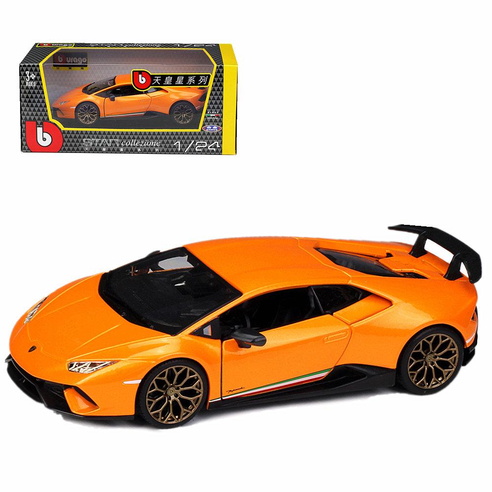Bburago 1:24 Lamborghini Huracan Performante Diecast Metal
