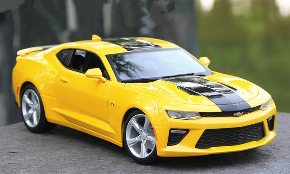 Maisto 118 2016 Chevrolet Camaro Ss Diecast Model Car Bumblebee