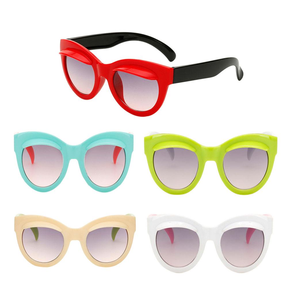 Ut Cartoon Eyebrows Children Glasses Anti Uv Sunglasses Uv400 Ebay