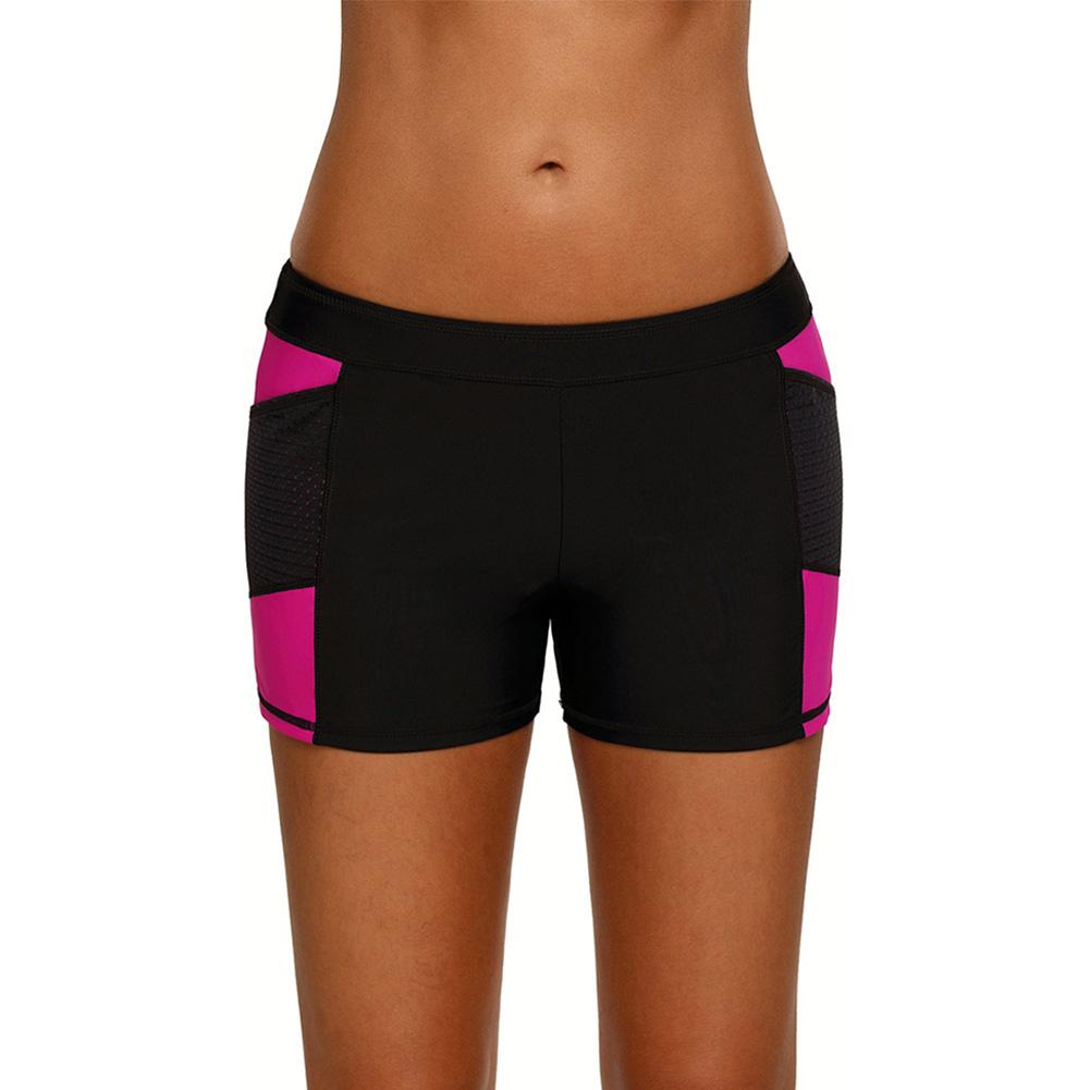 92ff7653a067 Elastische Taille Strandshorts Damen Board Shorts Bademode Beach Boxer  Briefs