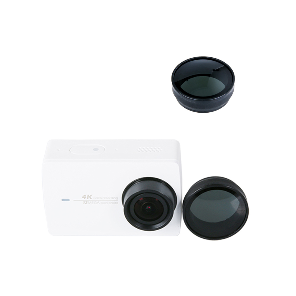 Neutral Density Nd Protective Cap Filter Lens For Xiaomi Yi 2 4k Ii Action Camera